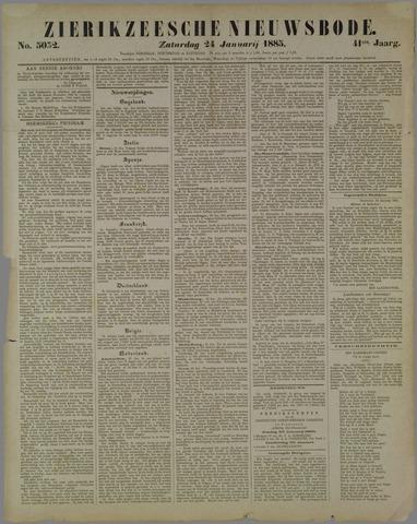 Zierikzeesche Nieuwsbode 1885-01-24
