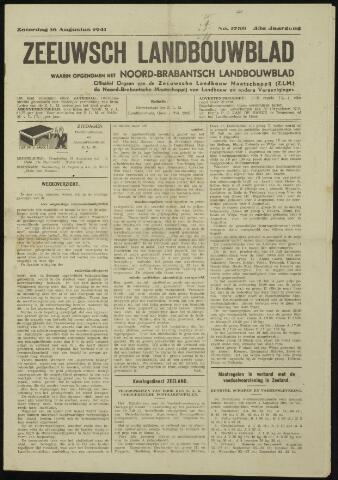Zeeuwsch landbouwblad ... ZLM land- en tuinbouwblad 1941-08-16