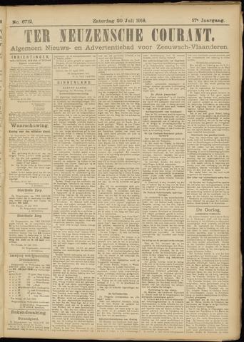 Ter Neuzensche Courant. Algemeen Nieuws- en Advertentieblad voor Zeeuwsch-Vlaanderen / Neuzensche Courant ... (idem) / (Algemeen) nieuws en advertentieblad voor Zeeuwsch-Vlaanderen 1918-07-20