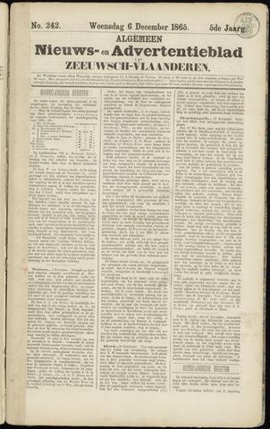 Ter Neuzensche Courant. Algemeen Nieuws- en Advertentieblad voor Zeeuwsch-Vlaanderen / Neuzensche Courant ... (idem) / (Algemeen) nieuws en advertentieblad voor Zeeuwsch-Vlaanderen 1865-12-06