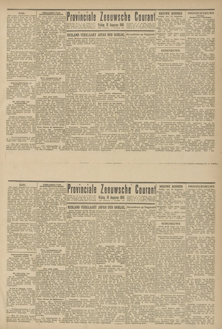 Provinciale Zeeuwse Courant 1945-08-10