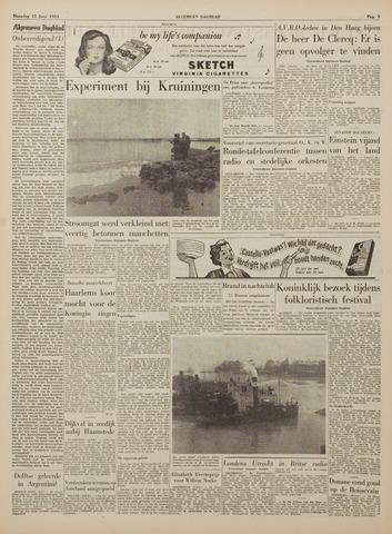 Watersnood documentatie 1953 - kranten 1953-06-15