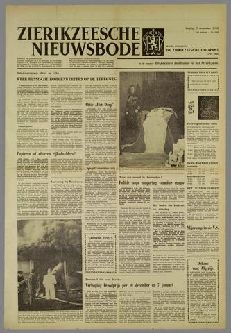 Zierikzeesche Nieuwsbode 1962-12-07