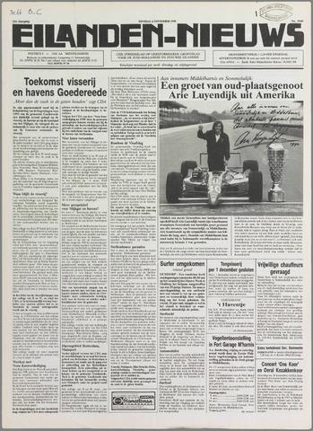 Eilanden-nieuws. Christelijk streekblad op gereformeerde grondslag 1990-11-06