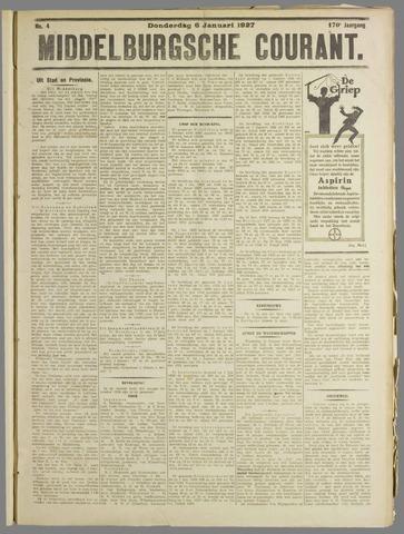 Middelburgsche Courant 1927-01-06
