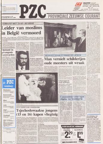 Provinciale Zeeuwse Courant 1989-03-30