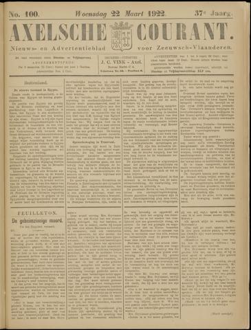 Axelsche Courant 1922-03-22