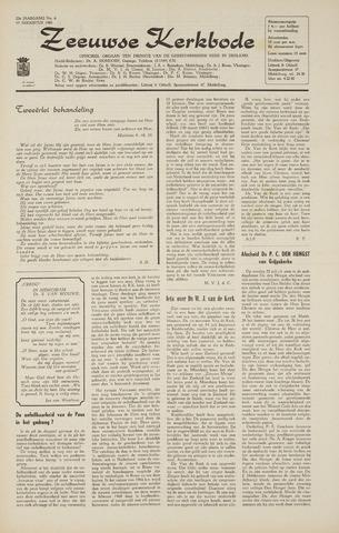 Zeeuwsche kerkbode, weekblad gewijd aan de belangen der gereformeerde kerken/ Zeeuwsch kerkblad 1968-08-15