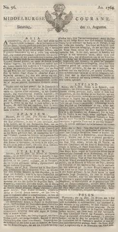 Middelburgsche Courant 1764-08-11