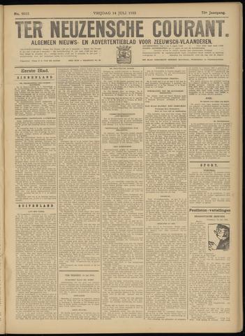 Ter Neuzensche Courant. Algemeen Nieuws- en Advertentieblad voor Zeeuwsch-Vlaanderen / Neuzensche Courant ... (idem) / (Algemeen) nieuws en advertentieblad voor Zeeuwsch-Vlaanderen 1933-07-14