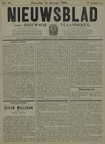 Nieuwsblad voor Zeeuwsch-Vlaanderen 1893-01-14