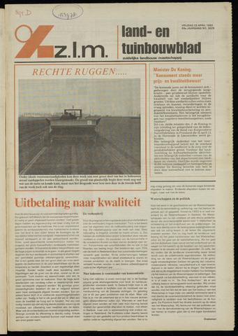 Zeeuwsch landbouwblad ... ZLM land- en tuinbouwblad 1982-04-23
