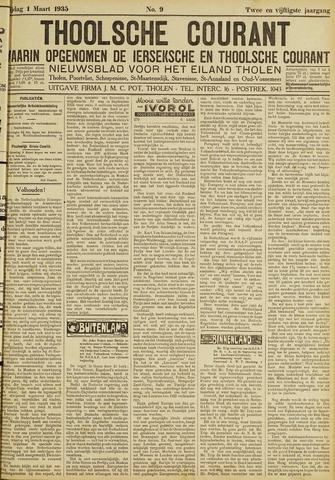 Ierseksche en Thoolsche Courant 1935-03-01
