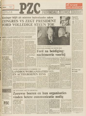 Provinciale Zeeuwse Courant 1974-08-10
