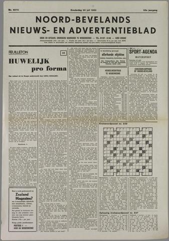 Noord-Bevelands Nieuws- en advertentieblad 1983-07-28