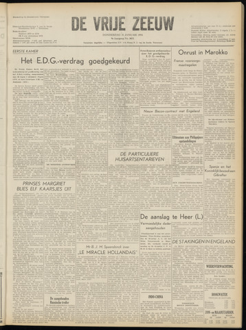 de Vrije Zeeuw 1954-01-21