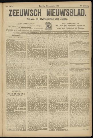 Ter Neuzensch Volksblad. Vrijzinnig nieuws- en advertentieblad voor Zeeuwsch- Vlaanderen / Zeeuwsch Nieuwsblad. Nieuws- en advertentieblad voor Zeeland 1919-08-23