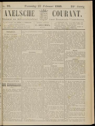 Axelsche Courant 1909-02-24