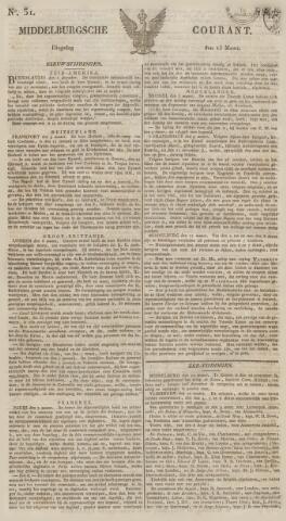 Middelburgsche Courant 1827-03-13