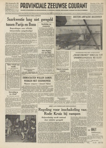 Provinciale Zeeuwse Courant 1954-11-06