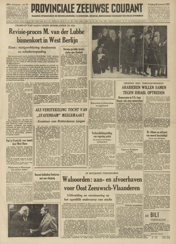 Provinciale Zeeuwse Courant 1957-01-25