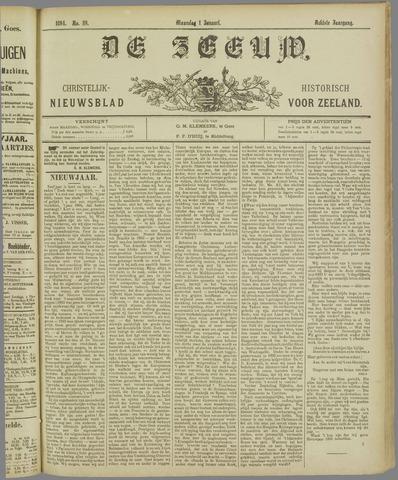 De Zeeuw. Christelijk-historisch nieuwsblad voor Zeeland 1894