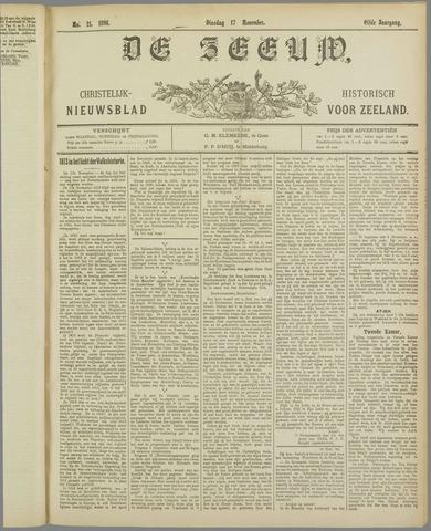 De Zeeuw. Christelijk-historisch nieuwsblad voor Zeeland 1896-11-17
