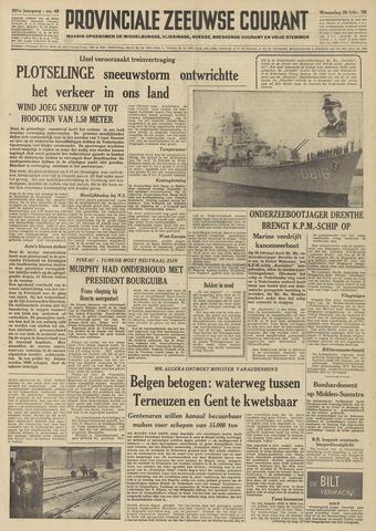 Provinciale Zeeuwse Courant 1958-02-26