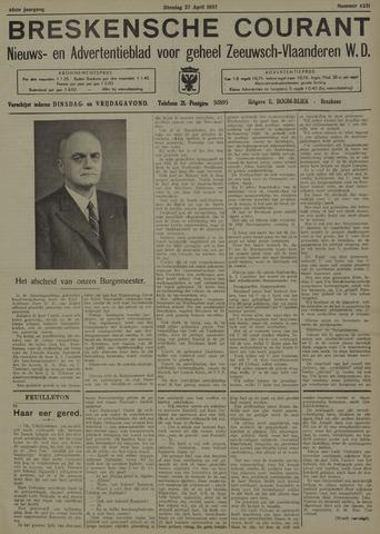 Breskensche Courant 1937-04-27