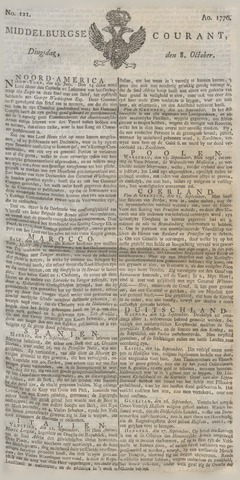 Middelburgsche Courant 1776-10-08