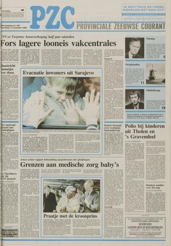Provinciale Zeeuwse Courant 1992-11-11