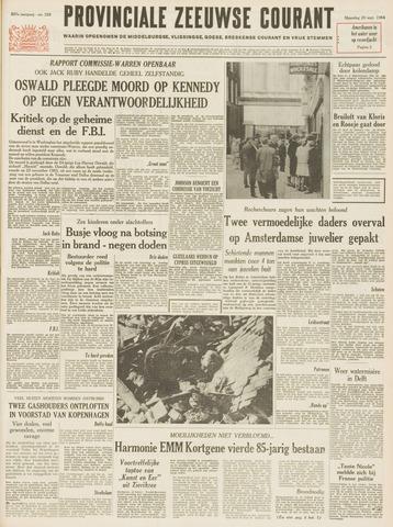 Provinciale Zeeuwse Courant 1964-09-28