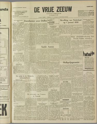 de Vrije Zeeuw 1959-02-11