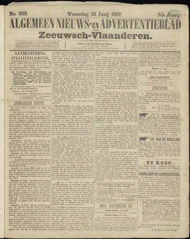 Ter Neuzensche Courant. Algemeen Nieuws- en Advertentieblad voor Zeeuwsch-Vlaanderen / Neuzensche Courant ... (idem) / (Algemeen) nieuws en advertentieblad voor Zeeuwsch-Vlaanderen 1867-06-26