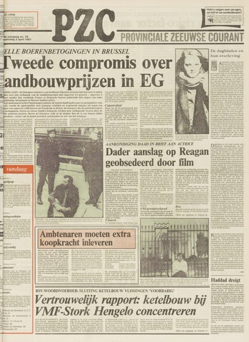 Provinciale Zeeuwse Courant 1981-04-02