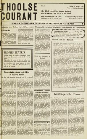 Ierseksche en Thoolsche Courant 1950-01-27