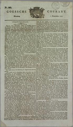 Goessche Courant 1833-11-11