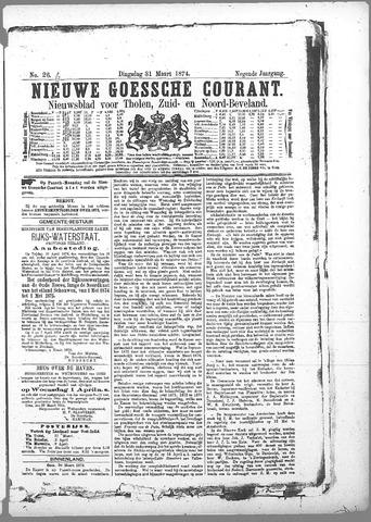 Nieuwe Goessche Courant 1874-03-31
