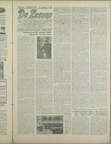 De Zeeuw. Christelijk-historisch nieuwsblad voor Zeeland 1943-02-02