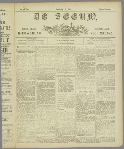 De Zeeuw. Christelijk-historisch nieuwsblad voor Zeeland 1895-06-13