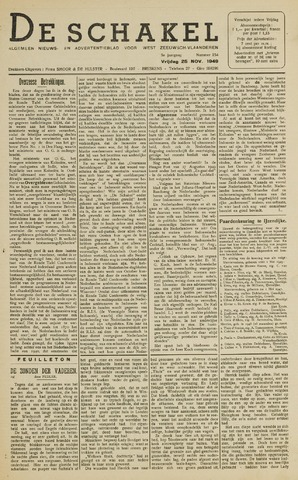 De Schakel 1949-11-25