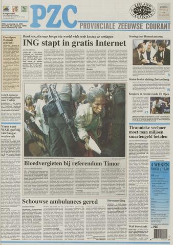 Provinciale Zeeuwse Courant 1999-08-31