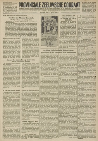 Provinciale Zeeuwse Courant 1942-06-01