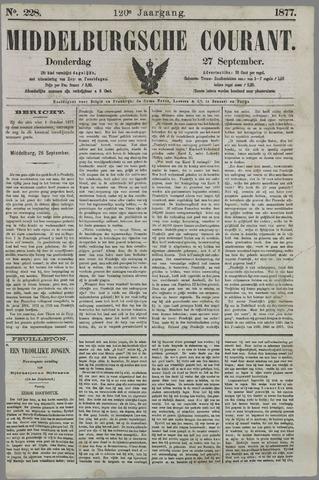 Middelburgsche Courant 1877-09-27