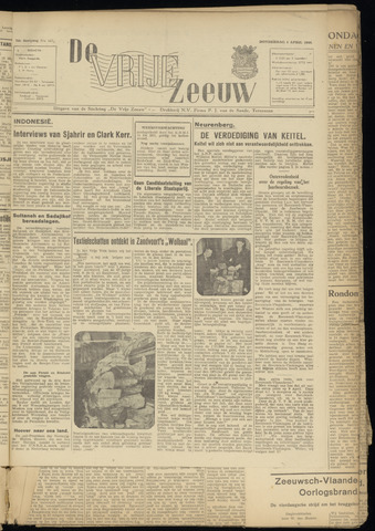 de Vrije Zeeuw 1946-04-04