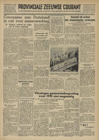 Provinciale Zeeuwse Courant 1949-11-16