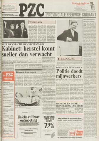 Provinciale Zeeuwse Courant 1984-09-19