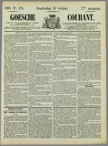 Goessche Courant 1890-10-30