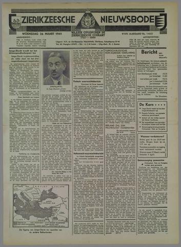 Zierikzeesche Nieuwsbode 1941-03-26