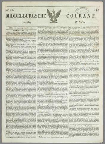 Middelburgsche Courant 1862-04-29